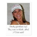 DIVA Caps at www.zazzle.com/LadyDenise   - Postcard