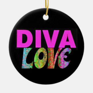 Diva Ceramic Ornament