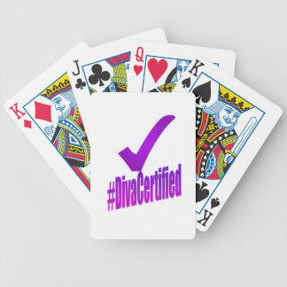 Diva Certified #1 Bicycle Playing Cards