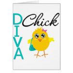 Diva Chick Cards