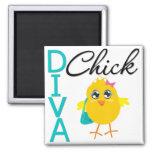 Diva Chick Magnets