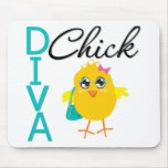 Diva Chick Mouse Pad