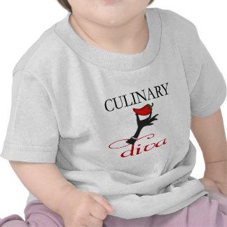 Diva culinaria camisetas