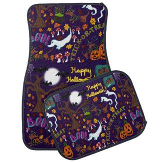 Diva Dachshund's Halloween Car Floor Mat