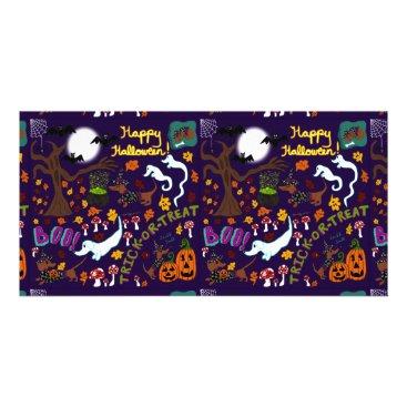 Diva Dachshund's Halloween Card