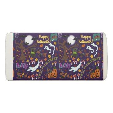 Halloween Themed Diva Dachshund's Halloween Eraser