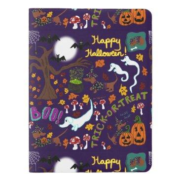 Halloween Themed Diva Dachshund's Halloween Extra Large Moleskine Notebook
