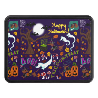 Diva Dachshund's Halloween Hitch Cover