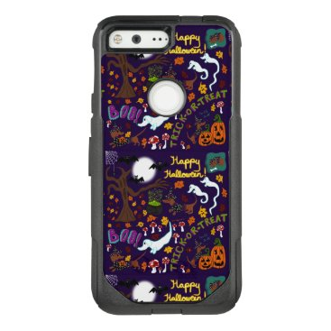 Halloween Themed Diva Dachshund's Halloween OtterBox Commuter Google Pixel Case