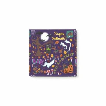 Halloween Themed Diva Dachshund's Halloween Post-it Notes