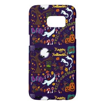 Halloween Themed Diva Dachshund's Halloween Samsung Galaxy S7 Case