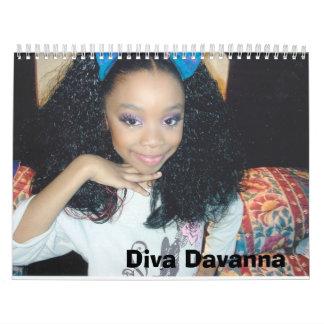 Diva Davanna Calendar