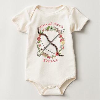 Diva de Arco del Al del Tiro Body Para Bebé