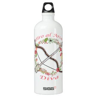 Diva de Arco del Al del Tiro Botella De Agua