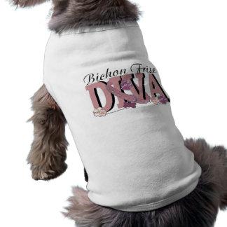 DIVA de Bichon Frise Camisa De Perrito