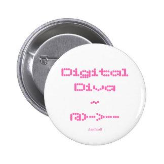 Diva de Digitaces Pin