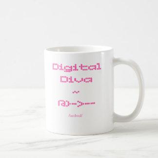 Diva de Digitaces Tazas De Café
