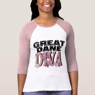 DIVA de great dane Camisetas