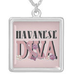 DIVA de Havanese Collares Personalizados