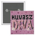 DIVA de Kuvasz Pin