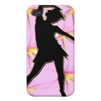 Diva de la danza iPhone 4 protectores