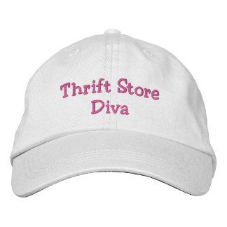 Diva de la tienda de descuento gorra de béisbol bordada
