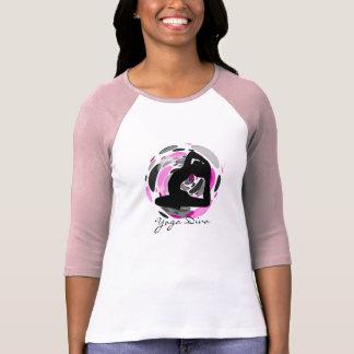 Diva de la yoga - camisetas de manga larga de la playera