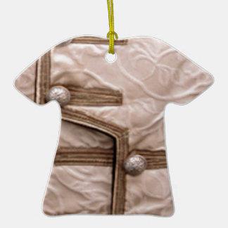 Diva de las costuras de la MODA - accesorios Adorno De Cerámica En Forma De Camiseta