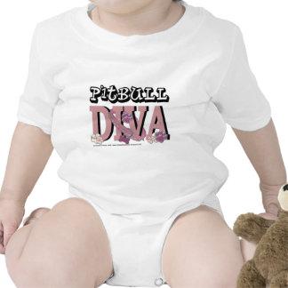 DIVA de Pitbull Camisetas