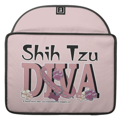 DIVA de Shih Tzu Funda Para Macbook Pro