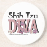 DIVA de Shih Tzu Posavasos Manualidades