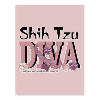 DIVA de Shih Tzu Postal