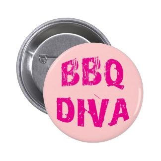 Diva del Bbq Pin Redondo 5 Cm