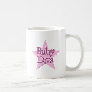 Diva del bebé taza clásica