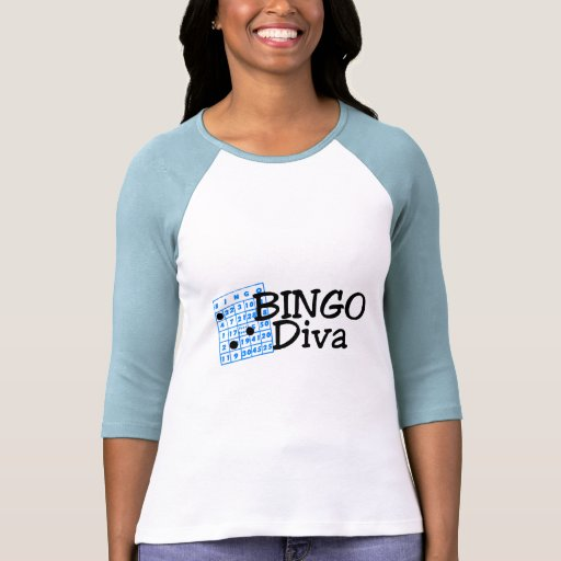 Diva del bingo playera