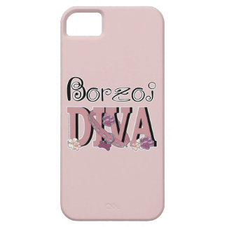 DIVA del Borzoi Funda Para iPhone SE/5/5s