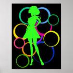 Diva del disco poster