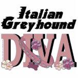 DIVA del galgo italiano Escultura Fotografica