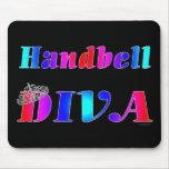 Diva del Handbell Tapetes De Ratones