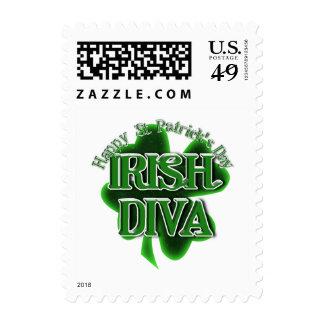 Diva del irlandés del día de St Patrick Envio