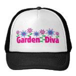 Diva del jardín gorras de camionero