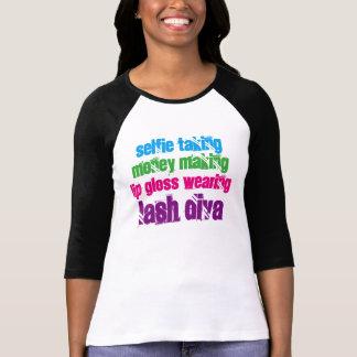 Diva del latigazo del rimel tee shirt