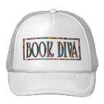 Diva del libro gorra