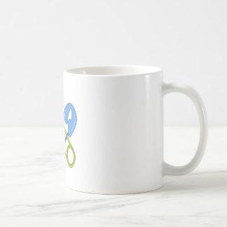 Diva del pañal taza de café