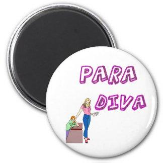 Diva del Paraprofessional Imanes