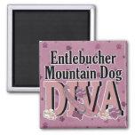 DIVA del perro de la montaña de Entlebucher Imán De Frigorífico