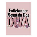 DIVA del perro de la montaña de Entlebucher Postal