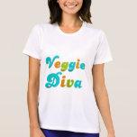 Diva del Veggie Camisetas