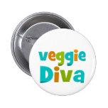 Diva del Veggie Pin
