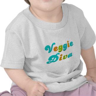 Diva del Veggie Camiseta